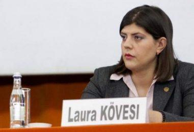 Cumetria adusă la Bruxelles. Laura Codruța Kovesi și-a numit finul la Parchetul European