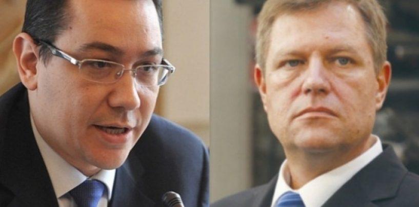 Klaus Iohannis a păstrat atacul decisiv pentru ultima secundă a dezbaterii