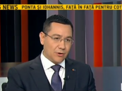 Victor Ponta a venit pregătit şi la cea de-a doua dezbatere cu Iohannis