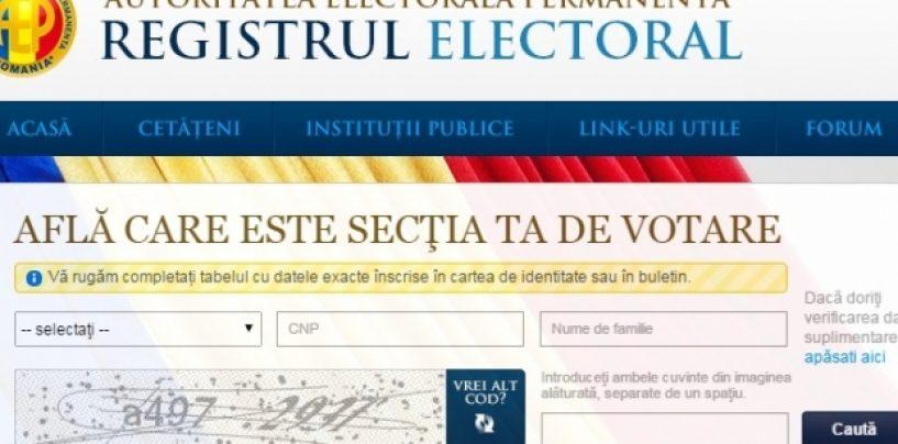 Află unde poți vota președintele tău în TURUL II