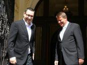 Ce au discutat la telefon Victor Ponta si Klaus Iohannis in noaptea alegerilor