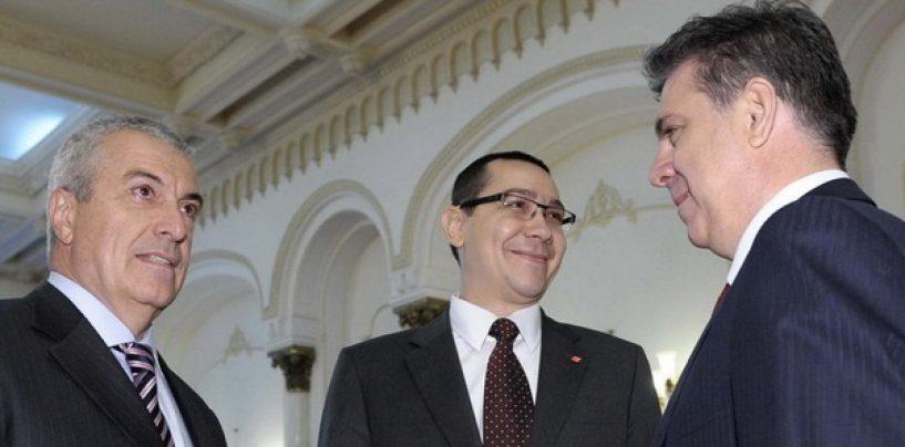 USL S-A REFĂCUT. Liderii PSD-UNPR-PC şi PLR au semnat declaraţia de constituire a USL 2.0