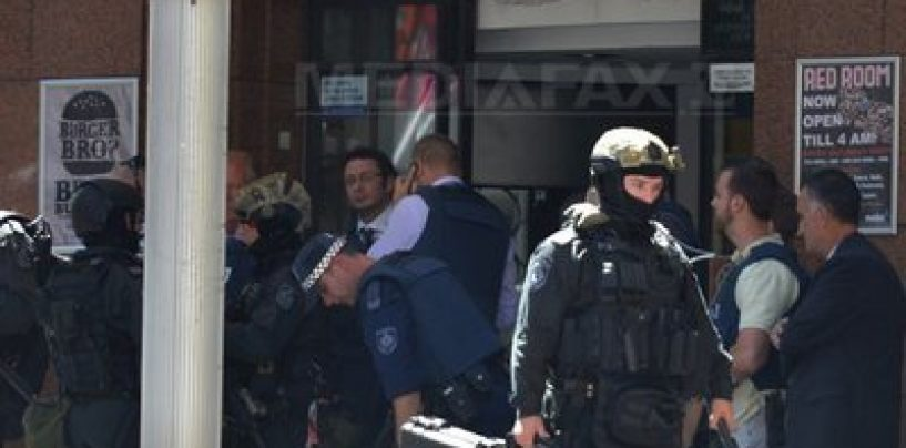 O noua lovitura a teroristilor: Un musulman a luat ostatici intr-o cafenea din Sydney(Australia)