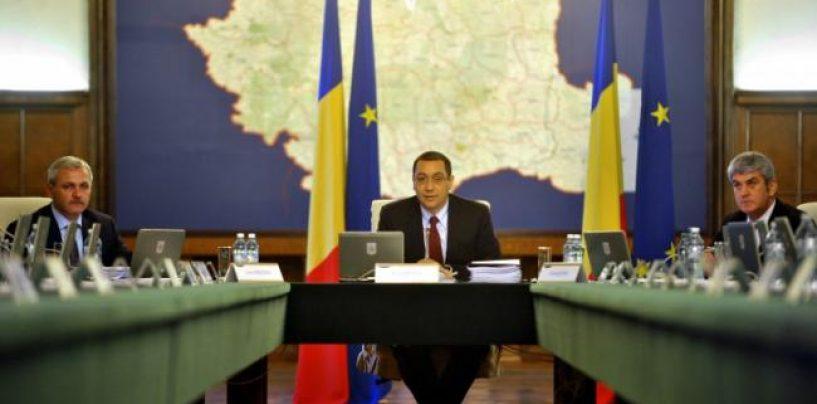 """Avem un nou Guvern Victor Ponta. Parlamentul l-a validat cu 377 de voturi """"pentru"""" si 134 """"impotriva"""""""