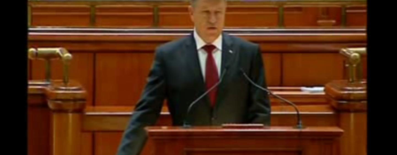 "Parlament: Klaus Iohannis cheama toate partidele la consultari politice. ""Trecem de la vorbe la fapte"""