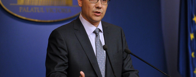 Victor Ponta: Romanii din diaspora sa contribuie la bugetul Romaniei macar cu 10 euro
