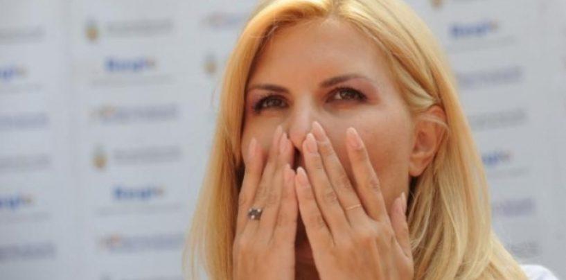 Elena Udrea, pusa sub control judiciar. Ea nu poate  sa paraseasca Bucurestiul