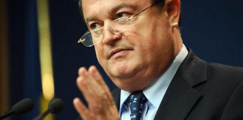 Vasile Blaga: Partidul nu greseste, doar un om poate sa greseasca
