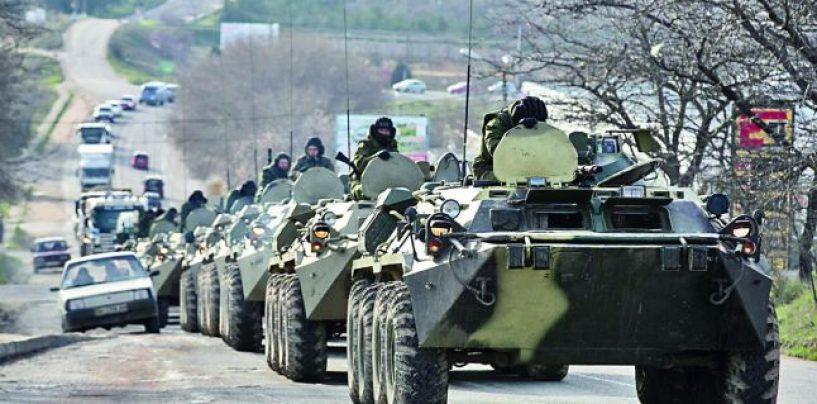 50 de tancuri rusesti au trecut granita Ucrainei si s-au alaturat rebelilor pro-rusi