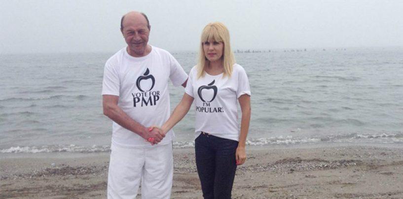Intoarcerea lui Traian Basescu: Ii multumesc Elenei Udrea care s-a dedicat organizarii PMP