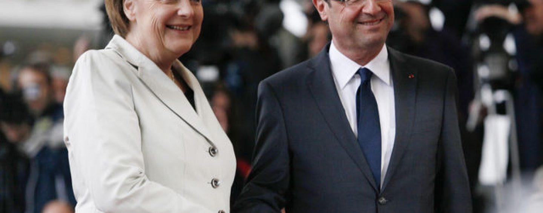 Merkel si Hollande merg la Kiev si Moscova cu un plan de rezolvare a crizei ucrainiene