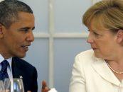 """Președintele american, Barack Obama, și cancelarul german, Angela Merkel, susțin """"o soluție diplomatică"""" și nu una militară în conflictul ruso-ucrainean"""