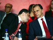 Mircea Geoana si Marian Vanghelie isi lanseaza platforma politica. Ei au adunat vreo 20 de parlamentari