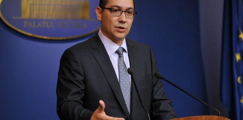 Victor Ponta: Daca sunt urmarit penal intr-un dosar, nu am cum sa raman in functie