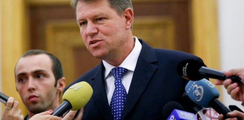 """Klaus Iohannis: Nu vreau sa fiu opozitia pentru schimbarea Guvernului Victor Ponta. Traian Basescu se dovedeste a fi un pensionar """"postac"""""""