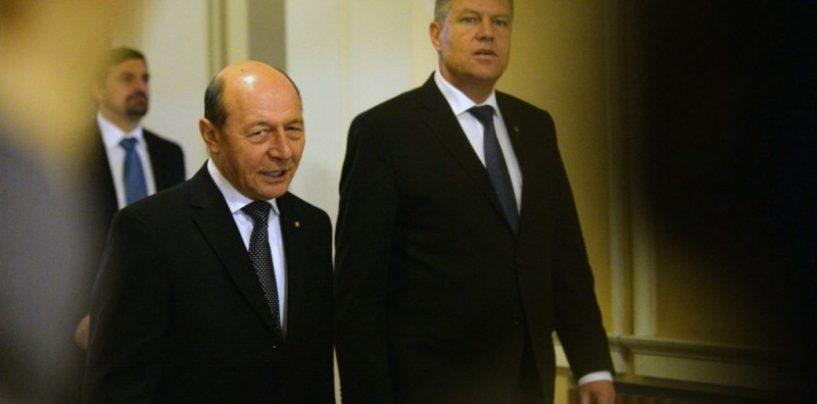 Traian Basescu despre Klaus Iohannis: Nu a existat presedinte mai absent si indiferent fata de partidul care l-a sustinut in alegeri