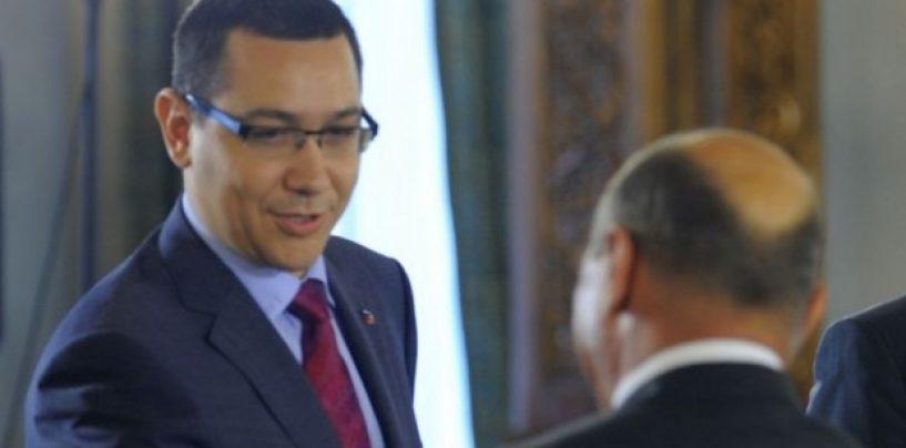 Victor Ponta îl atacă pe Traian Băsescu: Aştept breaking news-ul când o să ajungă lângă doamna Udrea