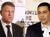 Klaus Iohannis: Solicit demisia premierului Victor Ponta. Este o situatie imposibila pentru Romania