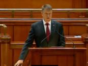 Klaus Iohannis, atac la Victor Ponta: E normal sa faci un pas in spate cand afectezi imaginea Romaniei