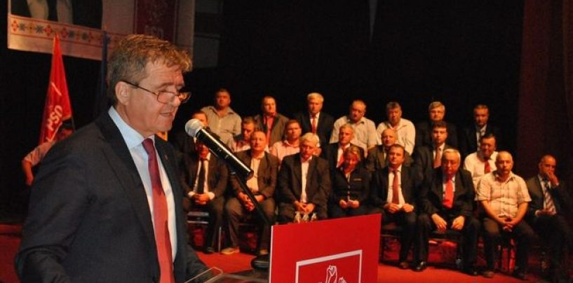 Alegeri la PSD Satu Mare. Mircea Govor a obtinut, in unanimitate, un nou mandat de presedinte al organizatiei