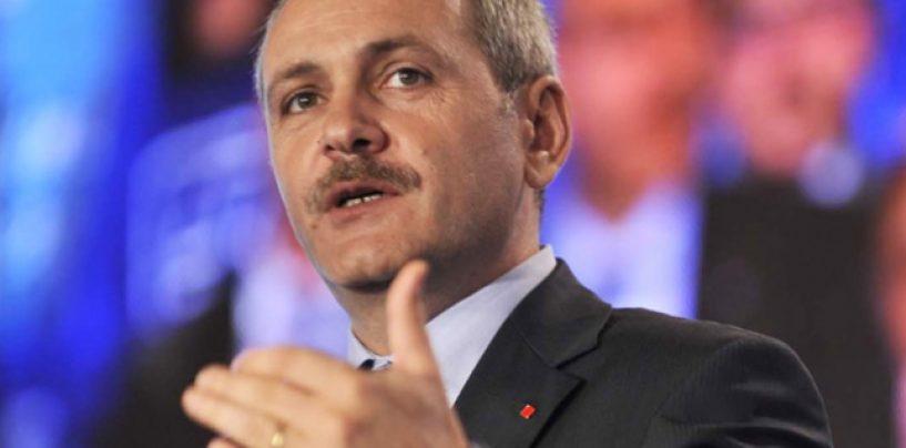 Liviu Dragnea, noul presedinte interimar al PSD. El a fost votat de liderii judeteni si de Ion Iliescu