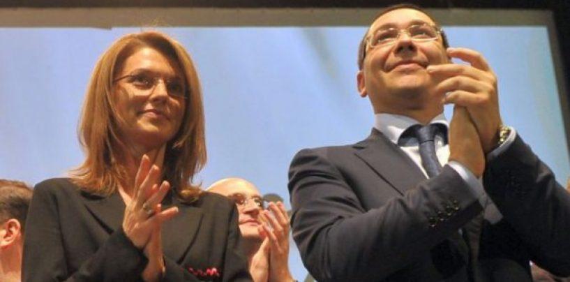 Victor Ponta, despre Alina Gorghiu: Cand eram in USL, ma iubea pe mine, pe Crin Antonescu…