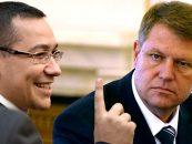 Klaus Iohannis a respins propunerea Guvernului pentru Ministerul Transporturilor. Victor Ponta: Ne-am intors in vremurile lui Traian Basescu