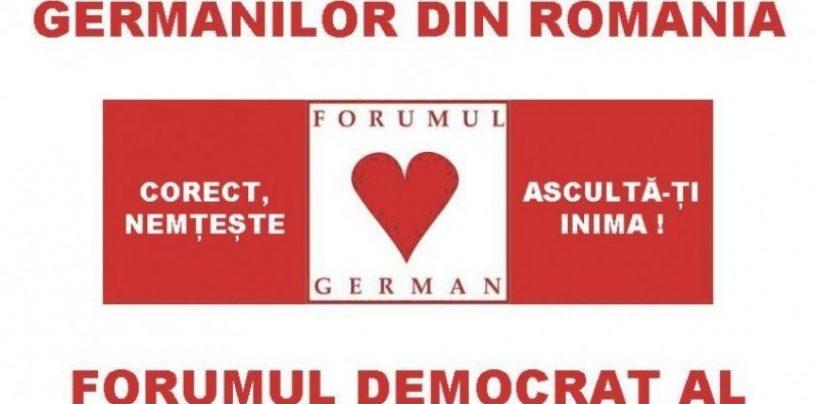 Atentie la legea anti-legionari: oare nu ar trebui desfiintat FDGR, organizatia condusa nu cu mult timp in urma de Klaus Iohannis?