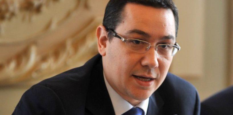 Victor Ponta: Care este situatia economica comparativa a anului 2015 fata de 2009