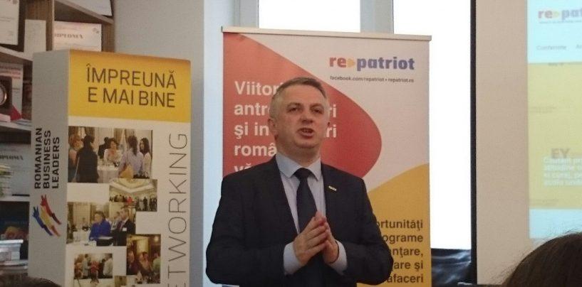 "Marius Bostan, leader proiect ""Repatriot"": Vrem sa ducem o campanie pentru intoarcerea in tara a valorilor antreprenoriale romanesti"