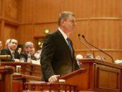 Presedintele Klaus Iohannis, in Parlament. Care a fost mesajul transmis alesilor
