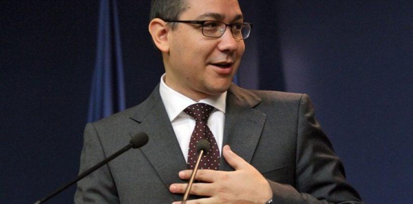 Victor Ponta: ANAF a colectat luna trecuta cu 1,2 miliarde de lei mai mult fata de aceeasi perioada a anului trecut
