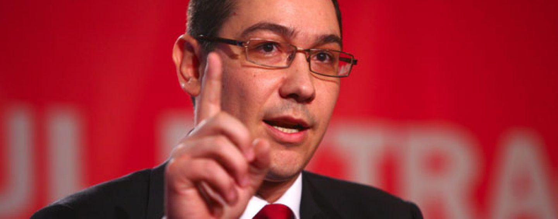 Victor Ponta catre Robert Negoita: Este riscant jocul in care s-a lansat