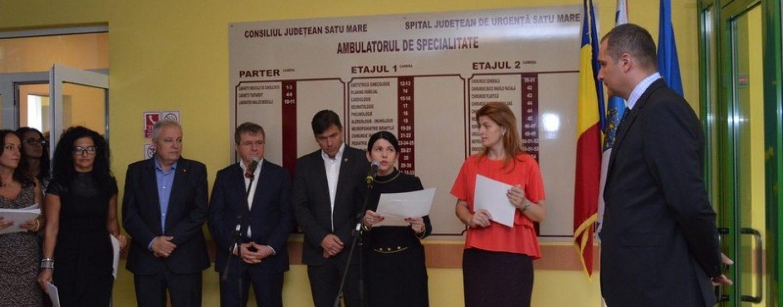 Premiera la Satu Mare: Zilele deschise la Ambulatoriul de la Spitalul Judetean