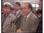Ion Iliescu, pus sub acuzare pentru crime impotriva umanitatii in dosarul Mineriada 13-15 iunie 1990. Suspect este si Virgil Magureanu