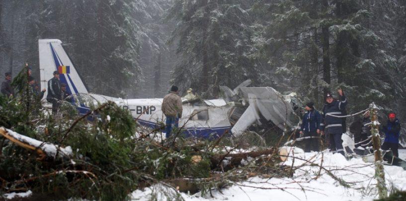 Raportul accidentului din Apuseni: Eroare in managementul misiunii. Avionul era prea incarcat