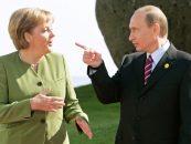 Ce ii reproseaza Vladimir Putin cancelarului Angela Merkel, cu ocazia sarbatoririi a 25 de ani de la reunificarea Germaniei
