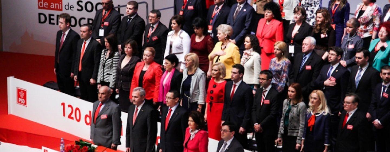 Premiera: PSD a condamnat comunismul, in prezenta lui Ion Iliescu. Dragnea: Trebuie sa ne rupem de trecut