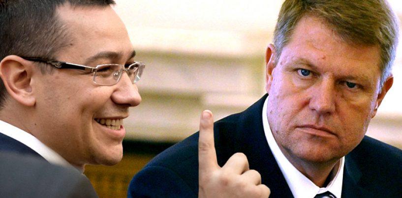 Victor Ponta despre Klaus Iohannis: S-a dus la Bruxelles ca surda la hora si cum s-a dus s-a si intors