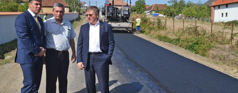 Guvernul Romaniei finanteaza drumurile judetene din judetul Satu Mare
