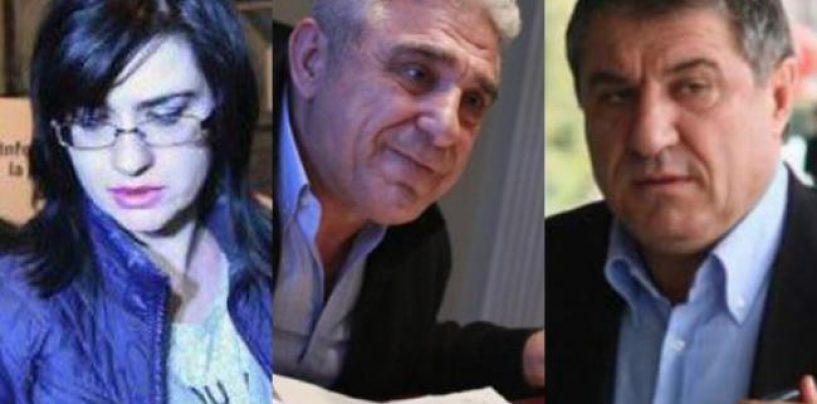 Judecatoarea Geanina Terceanu si fratii Becali, arestati preventiv