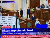 Ce cauta presedintele Dumei de Stat din Rusia in Parlamentul Romaniei? Proteste ample in Senat