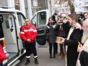 O stire buna dinspre BOR: primul serviciu de ambulanta al Patriarhiei, infiintat la Bistrita