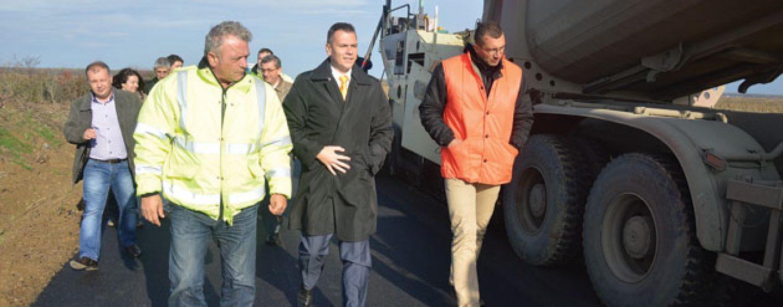 Bilantul investitiilor pentru Satu Mare: doua treimi din drumurile judetene au fost reabilitate