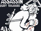 O noua provocare marca Charlie Hebdo: Dumnezeu cu o pusca Kalasnikov pe umar