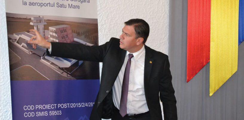 Investitii masive pentru reabilitarea aeroportului din Satu Mare