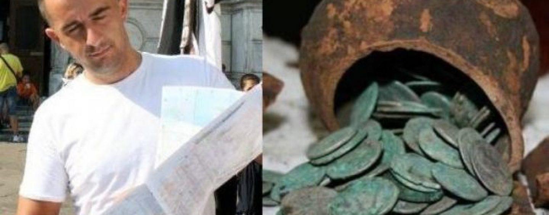 A fost gasita comoara haiducilor din padurile de la marginea Targovistei. Trei ulcele cu 6000 de monede de arginti