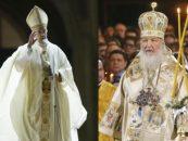 Întrevedere istorică între papa Francisc şi patriarhul Bisericii Ortodoxe Ruse, Chiril, la Havana, vineri după-amiază
