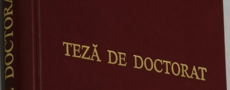 Rectorii vor să fie implicaţi în elaborarea regulilor privind studiile doctorale