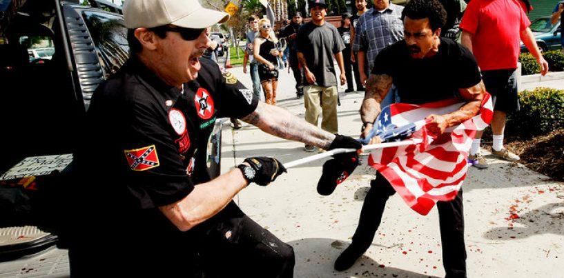 Violenţe, în statul american California, între membrii KKK şi adversarii acestui grup
